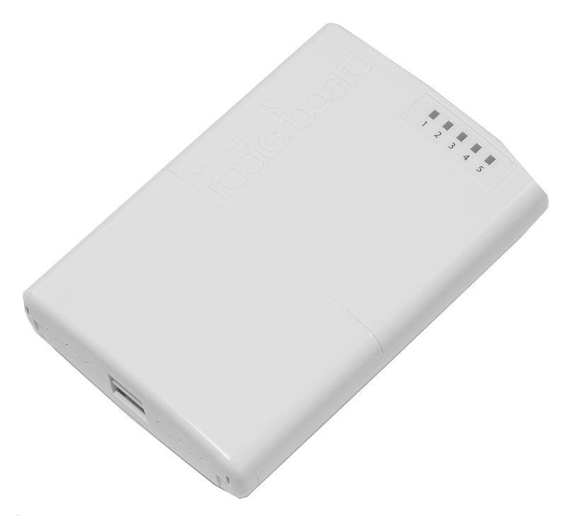 Router con uscita PoE su quattro porte