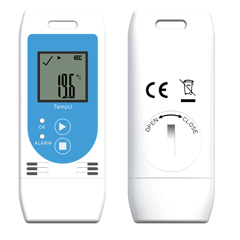 TZ TempU03: Data logger Temperature & Umidity USB PDF CSV