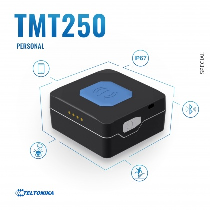 TMT250 - Portable GNSS/GPS/GSM tracker