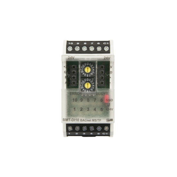 MR-SI4 Modbus module with 4 S0 inputs