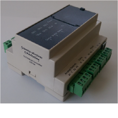 Greensys GS539 Fan Coil Controller with Communication Bacnet MS/TP oR Modbus RTU