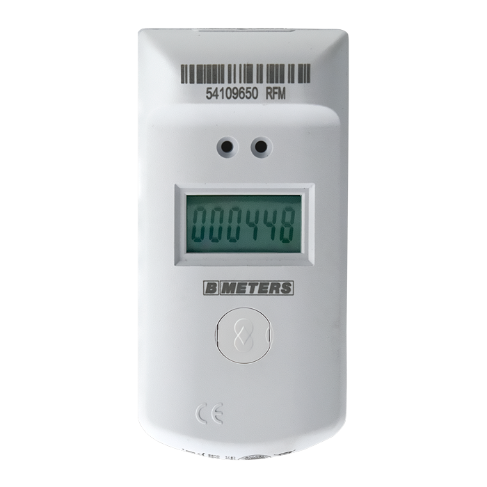 Ripartitore dei costi di calore completo di 2 sensori di temperature