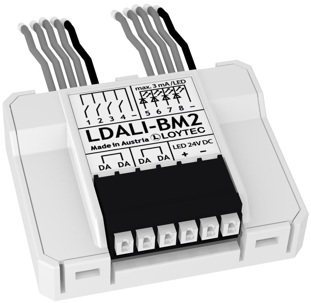 LDALI-BM2 Accoppiatore a pulsante