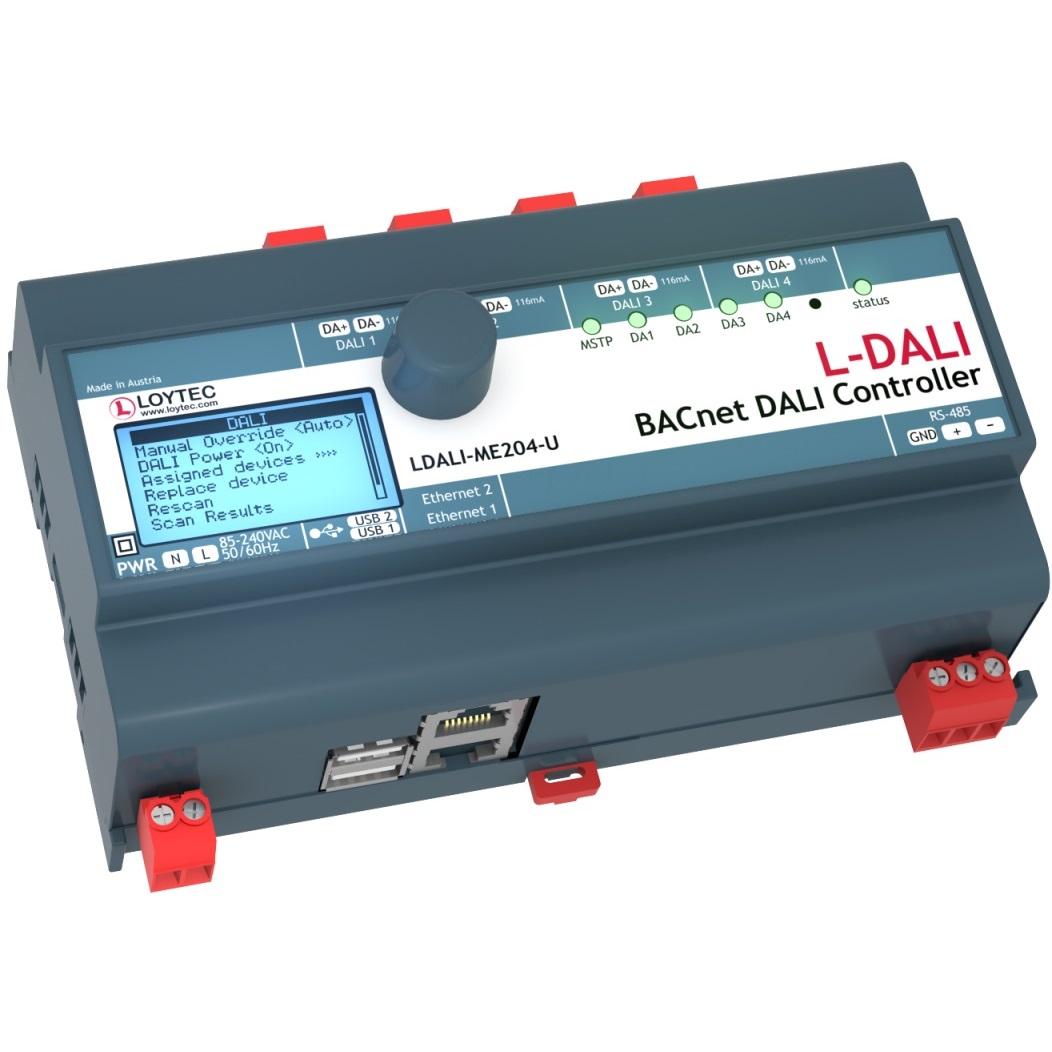 BACnet / DALI Controller 4  DALI lines