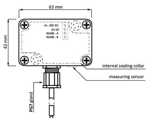 MB-AHT-1 Transducer T+H IP65