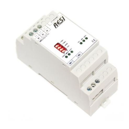 Gateway Meterbus (M-Bus) / Modbus ETHERNET  up to 24 slave MBUS
