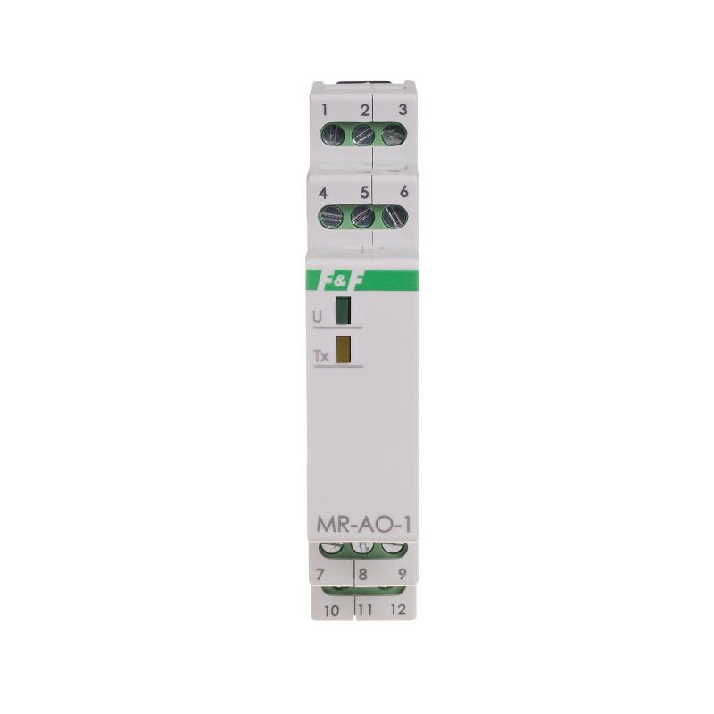 MR-AO-1: Modulo 4 uscite analogiche 0-10VDC Modbus RTU