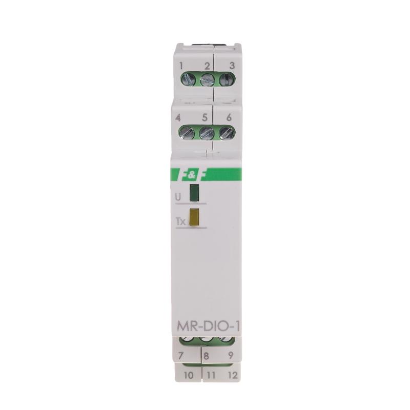 MR-DIO-1: Module 6 digital inputs/outputs Modbus RTU