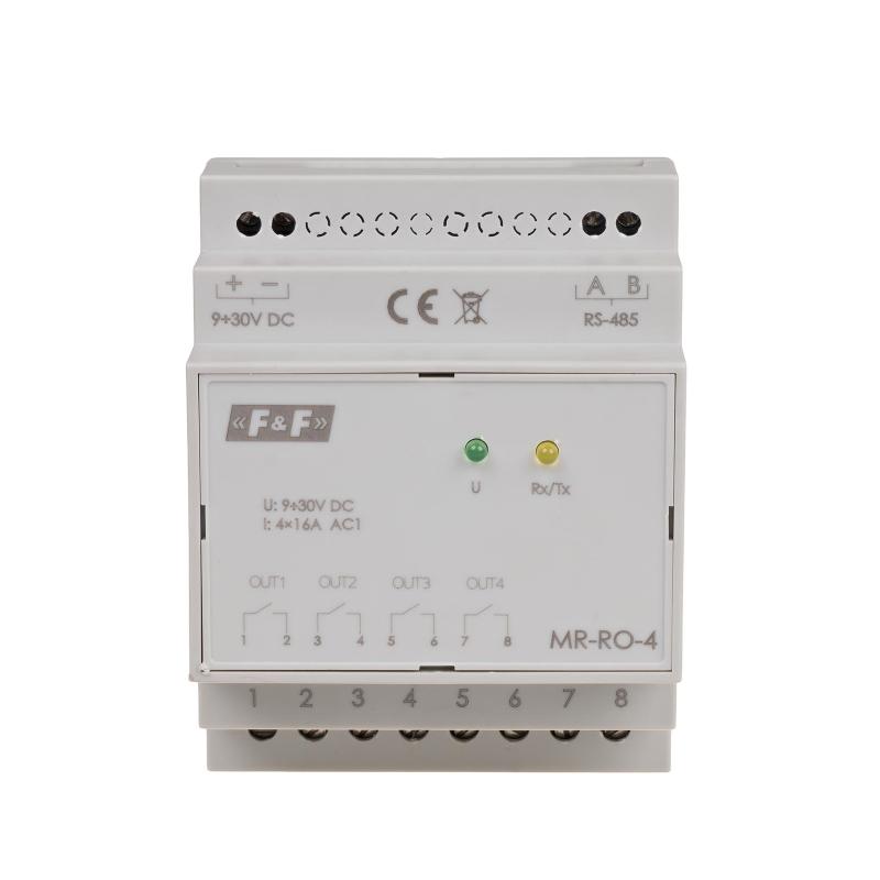 FF-MR-RO-4: 4 outputs RELAY module MODBUS