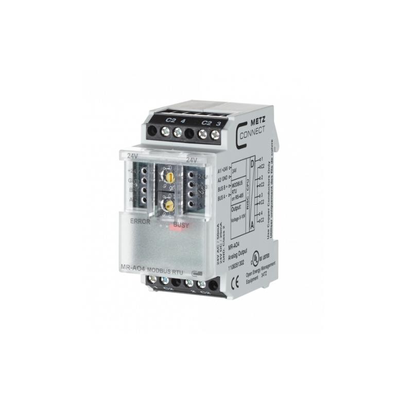 MR-AO4 Modbus RTU 4 analog output