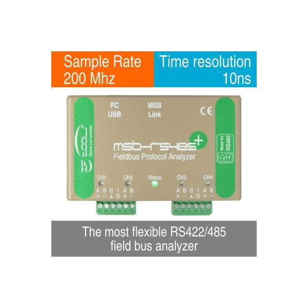 Analizzatore di rete seriale RS-485