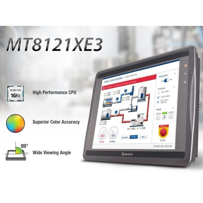 """12.1"""" HMI  Touch Monitor ad alta risoluzione"""