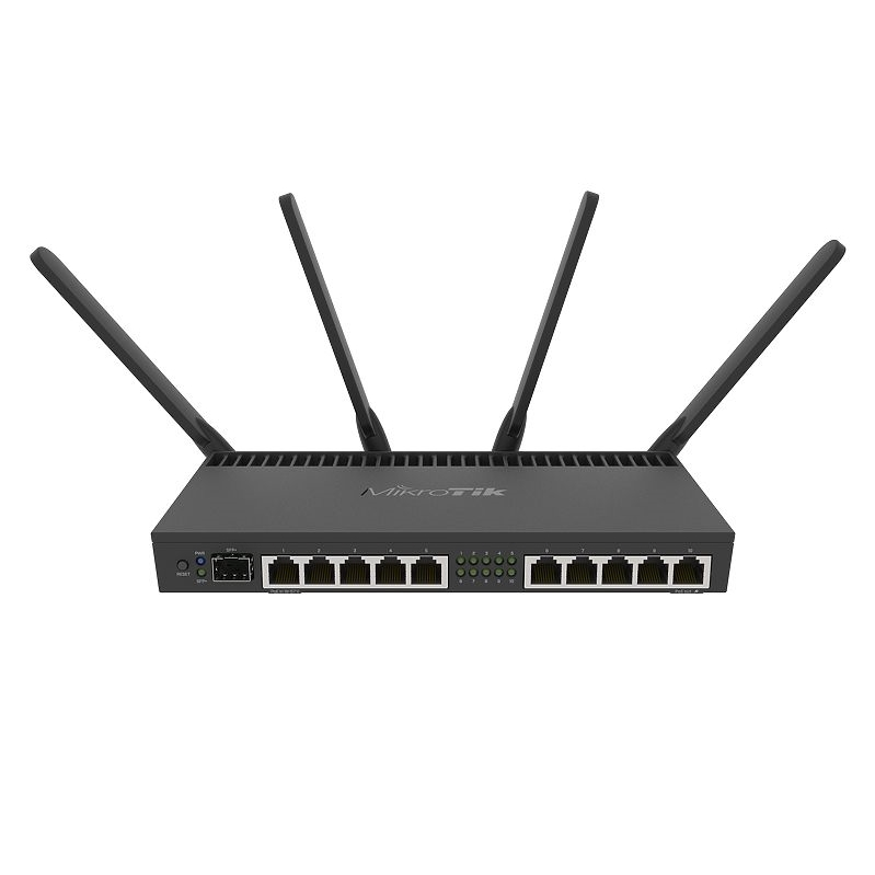 RB4011iGS  10xGigabit port router, dual band 2.4GHz / 5GHz 4x4 MIMO