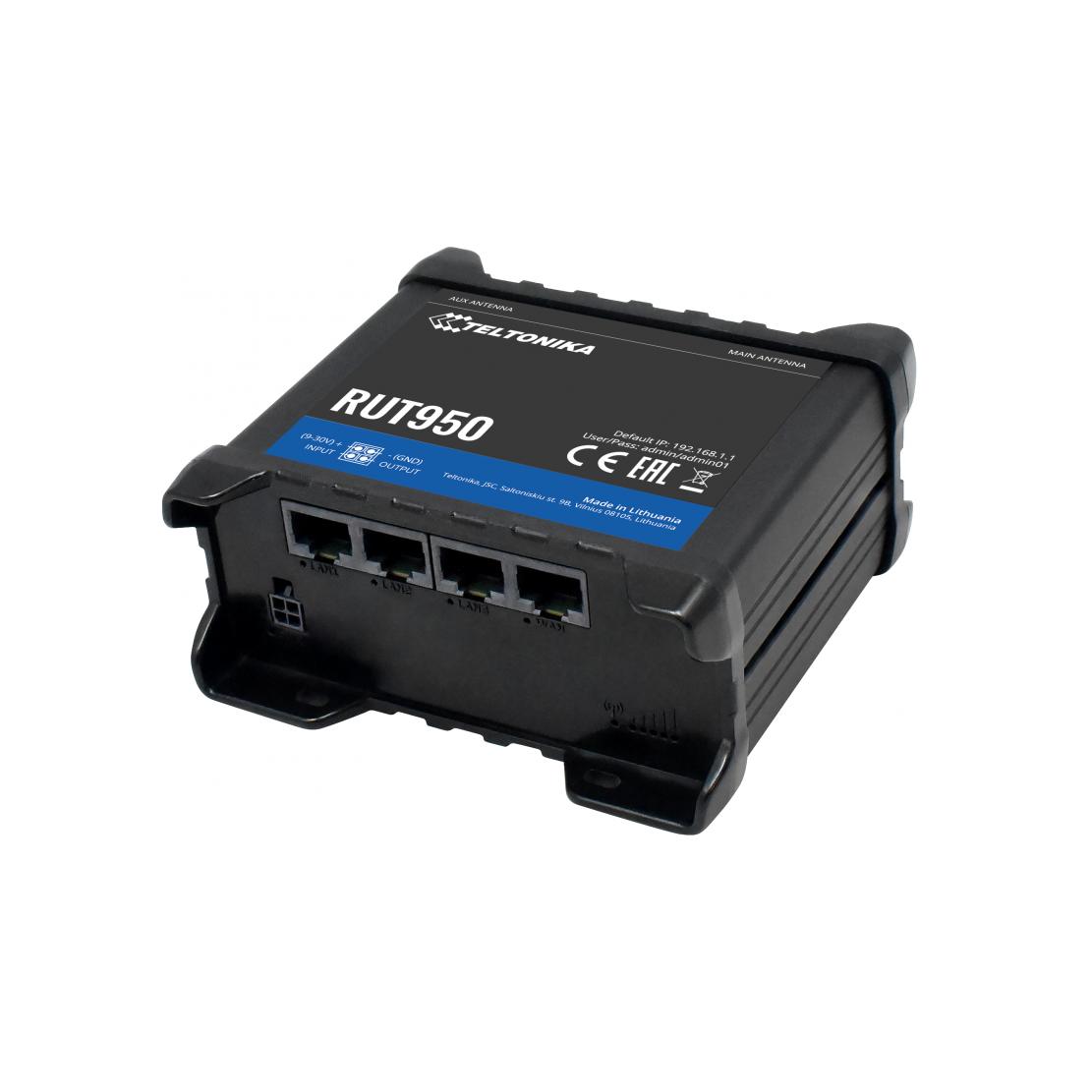 Teltonika Router 4G RUT 955 con seriale,IO,GPS