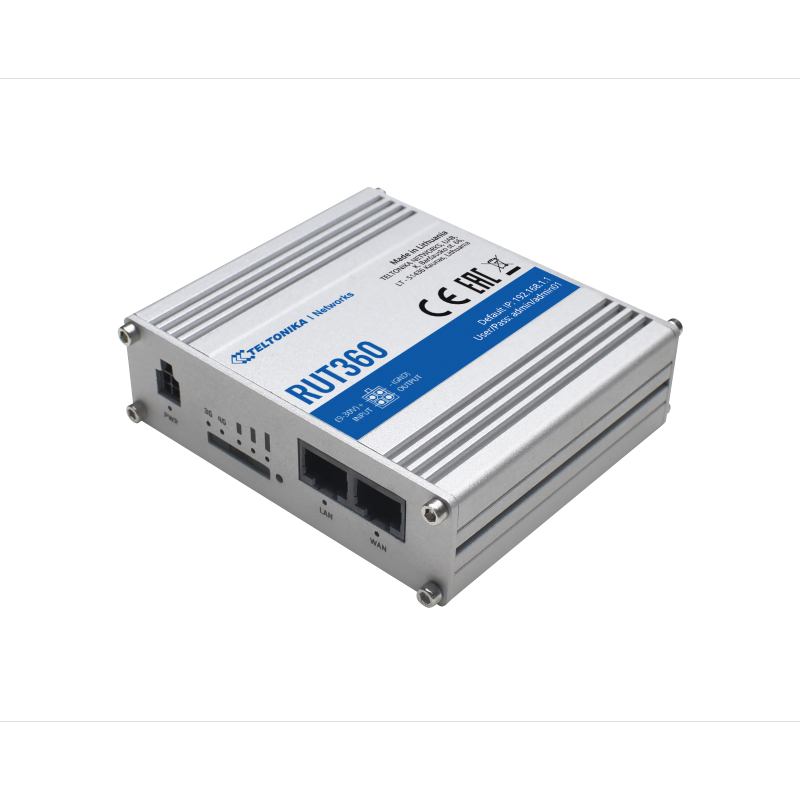 RUT360 Router cellulare industriale  LTE CAT6