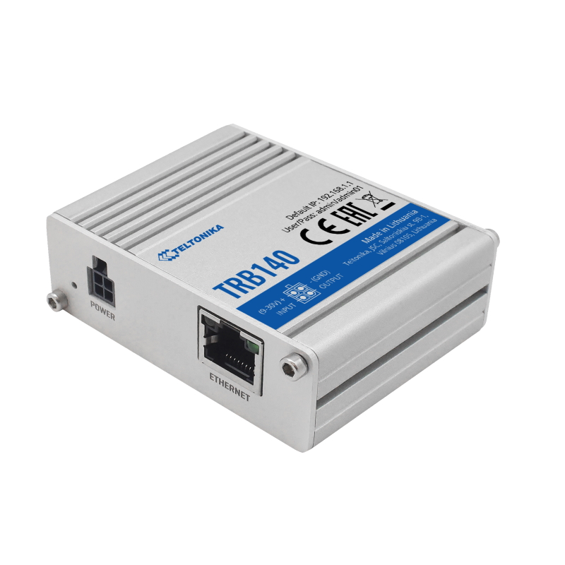 Industrial Ethernet to 4G LTE IoT gateway