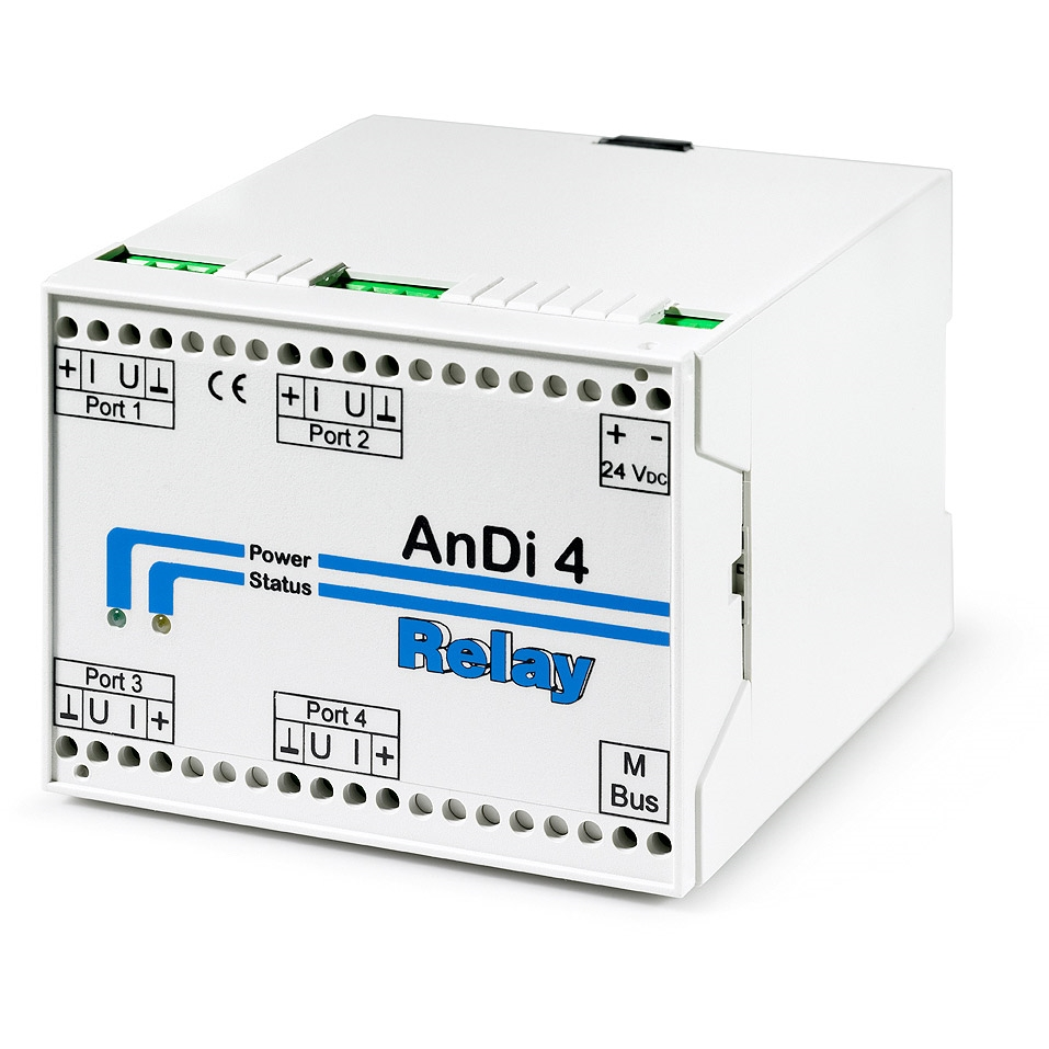 ANDI: A/D converter for M-bus