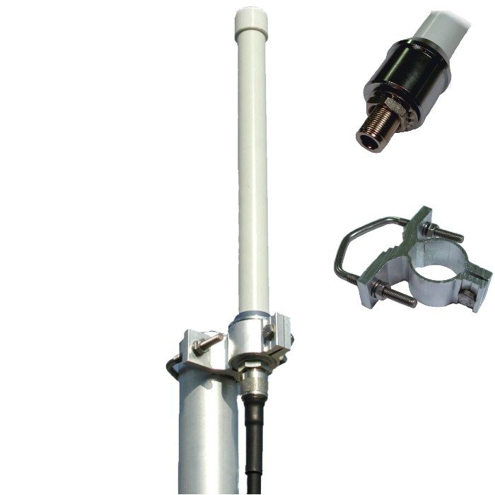Omni-directional antenna with high gain HGO LTE / 4G