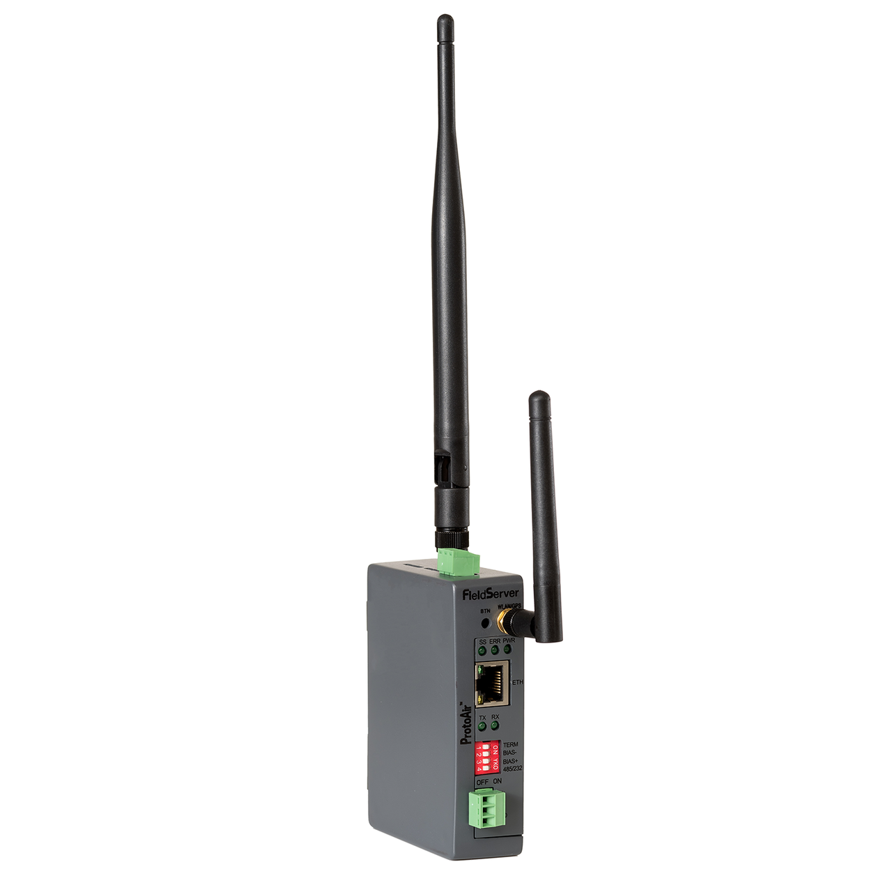 FS-BENG-C (Cellular): Features one RS-485 port, one Ethernet 10/100 port, and supports cellular and Wi-Fi network connection