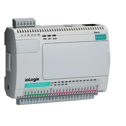 E2210 modulo  Modbus TCP, 12 DI 8 DO