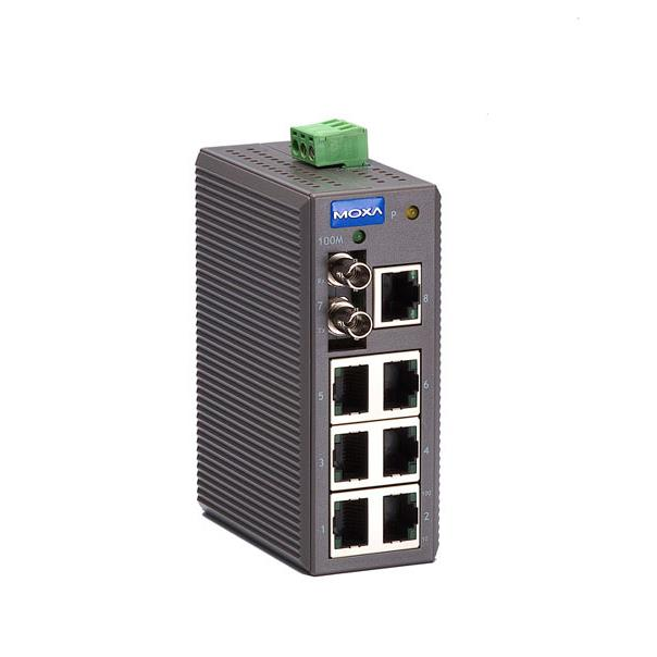 EDS-208-M-ST - Ethernet Switch with 8 ports