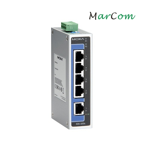 EDS-205A - Switch Ethernet with 5 ports