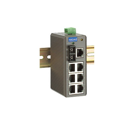 EDS-208-M-SC - Ethernet Switch with 8 ports