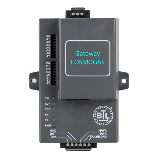 Gateway BACnet/IP - MS/TP
