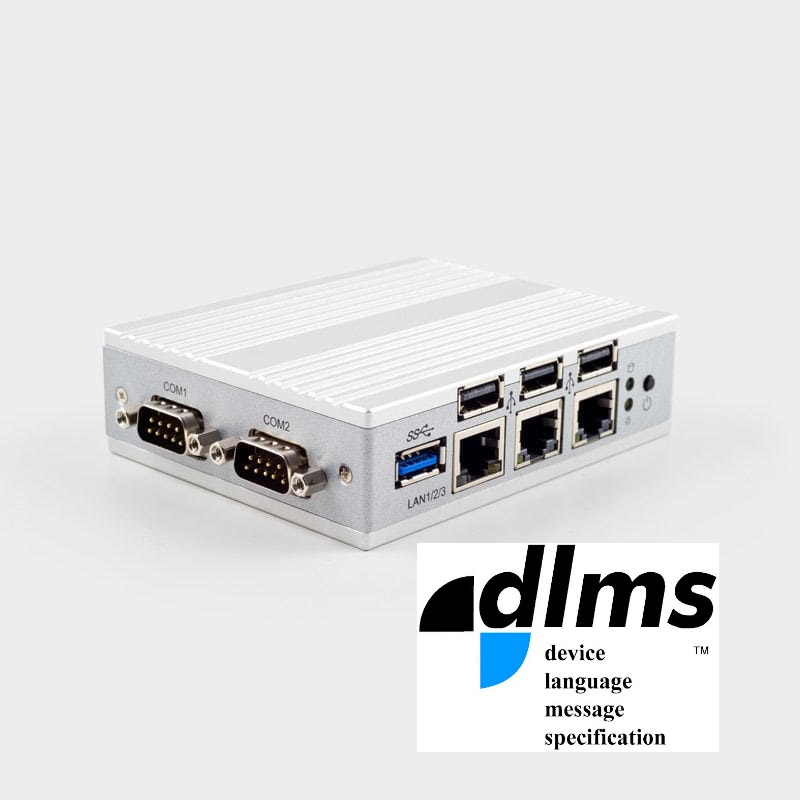 Gateway advanced DLMS-Modbus TCP/RTU