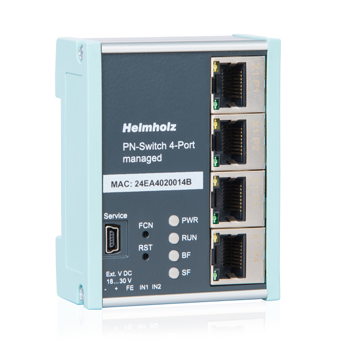 700-850-4PS01 PROFINET-Switch, 4-Port, managed;