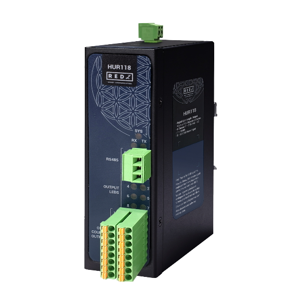 MODBUS module with 8 digital outputs