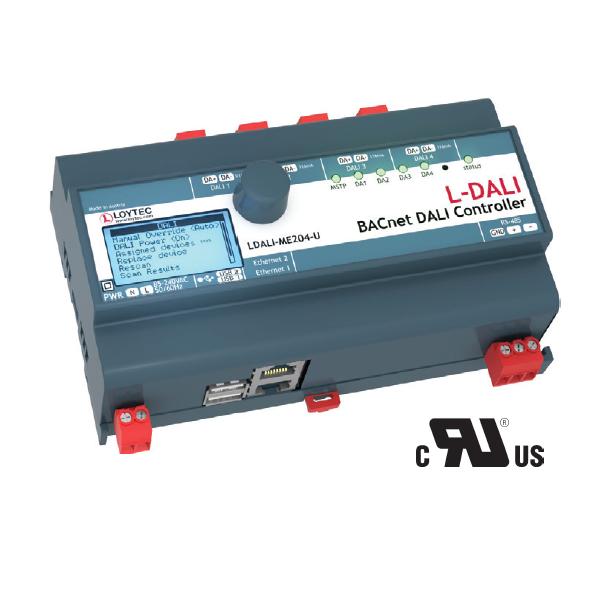 LDALI ME20x-U BACnet/DALI Controllers