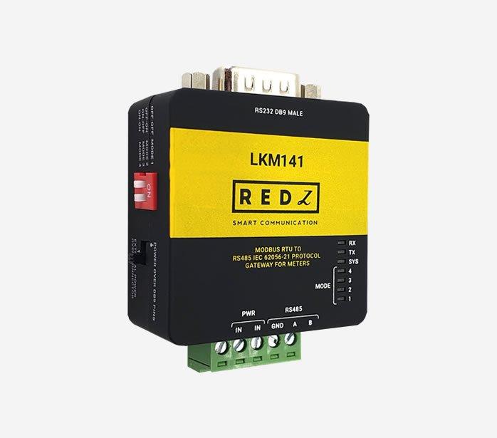 LKM141 MODBUS RTU to IEC62056-21 Meter Gateway
