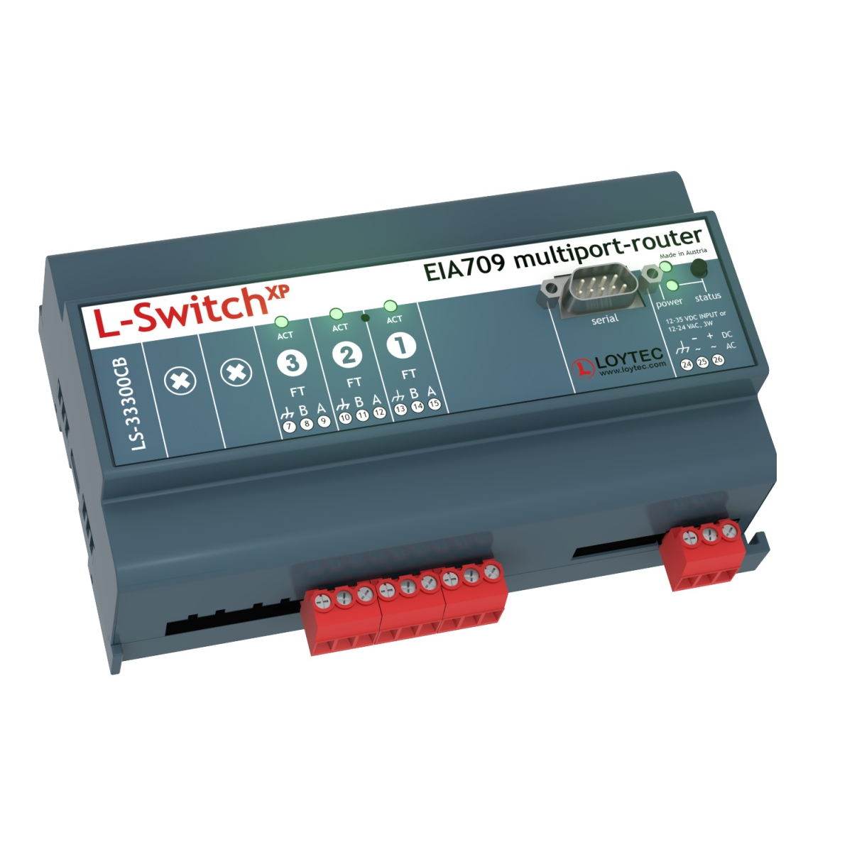 LS-33300CB L-Switch CEA-709 Router