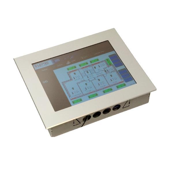 """LVIS-3M12-A1 Touch Panel 12.1"""", aluminum frame"""