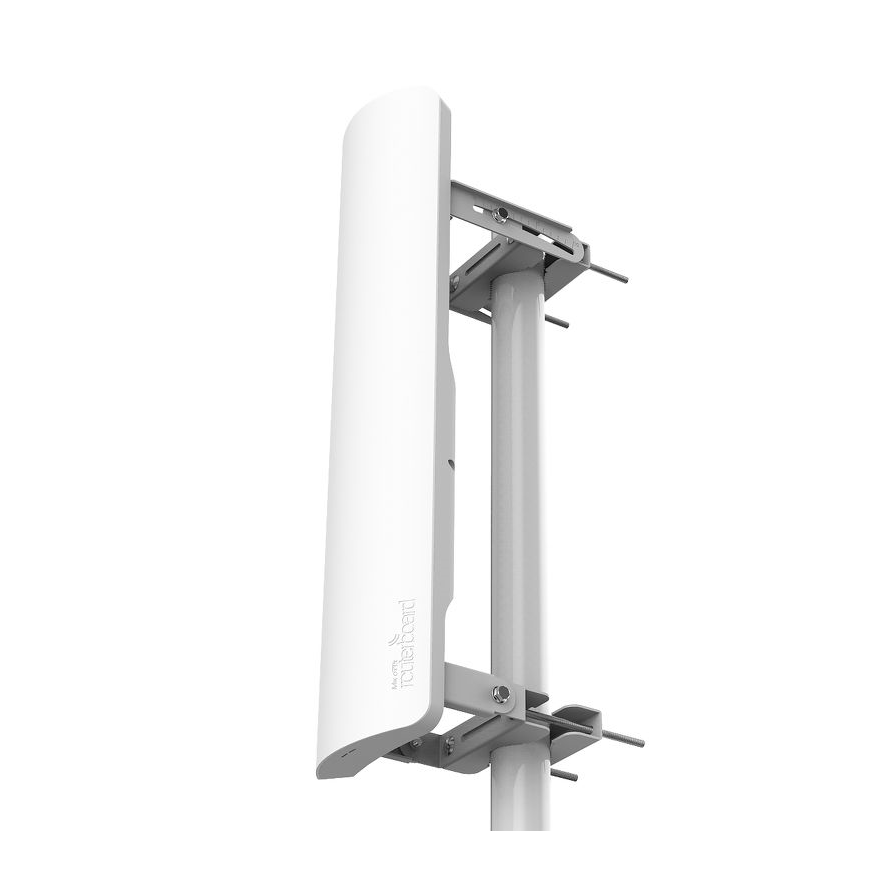 mANTBox 19S 5GHz 120 degree 19dBi dual polarization sector Integrated antenna with 720Mhz CPU, 128MB RAM, SFP, PSU and PoE