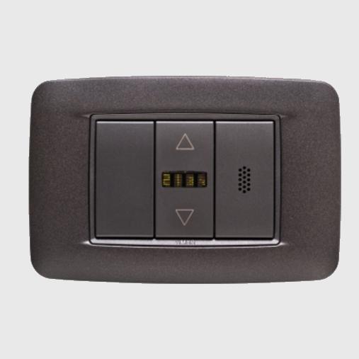Sensore di Temp. Con display, da incasso, Modbus