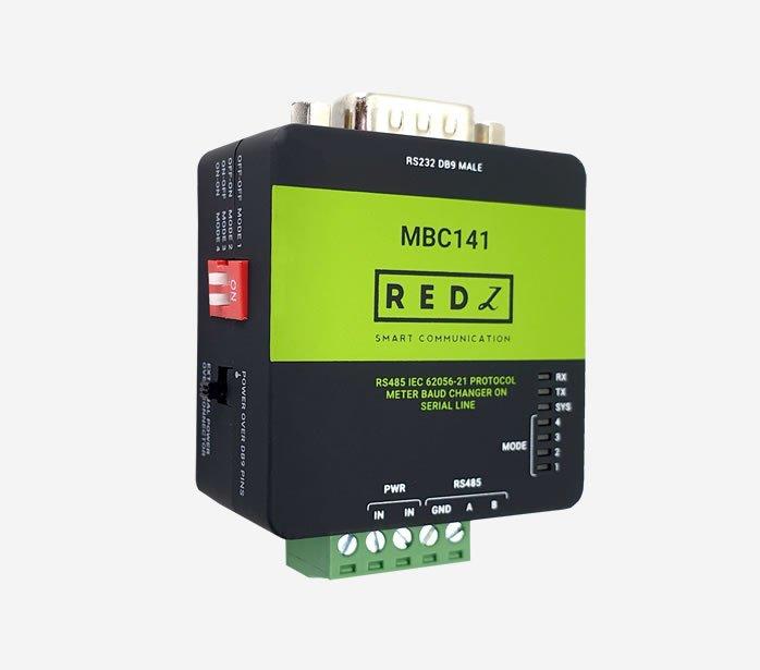 MBC141:Gateway IEC62056-21 Protocol Auto Baud Changer