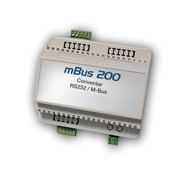 M-Bus Serial RS232 Converter 200 devices