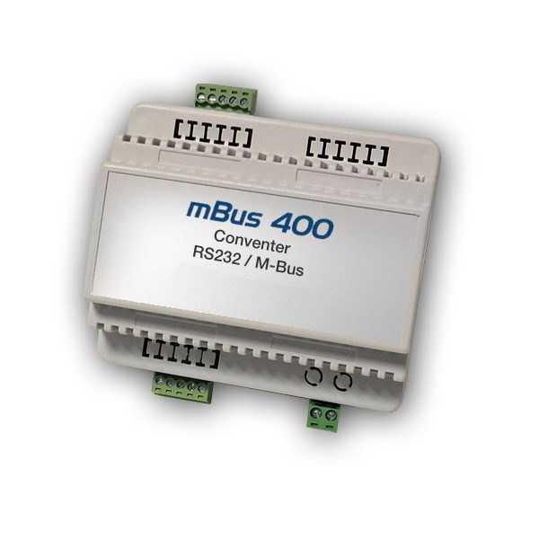 M-Bus Serial RS232 Converter 400 devices