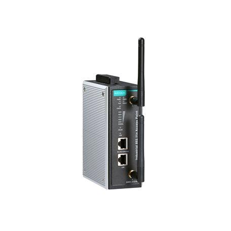AWK3131A Industrial IEEE 802.11a/b/g/n wireless AP/bridge/client
