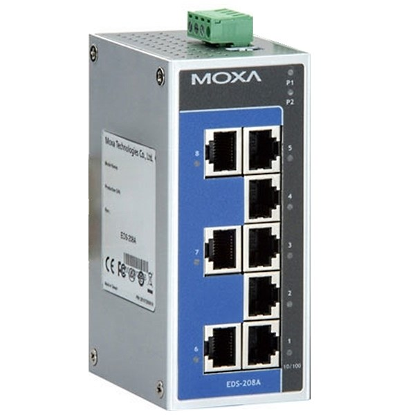 EDS-208A - Switch Ethernet with 8 ports