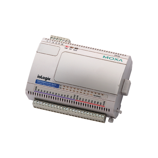 E2214:Universal controller, 6 DIs, 6 relays, Modbus TCP, -10 to 60°C operating temperature