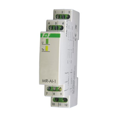 MR-AI-1: Modulo 4 ingressi analogici 0..10VDC / 4..20mA Modbus RTU