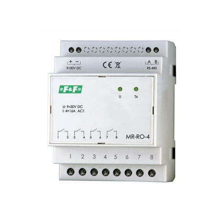 FF-MR-RO-4: 4 outputs RELAY module