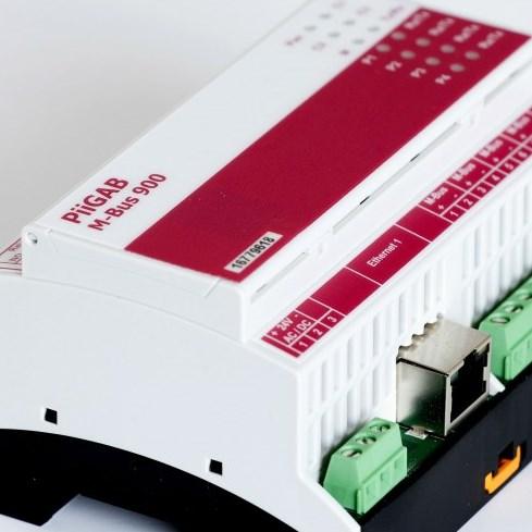 Gateway Meterbus (M-Bus) / Ethernet + Modbus