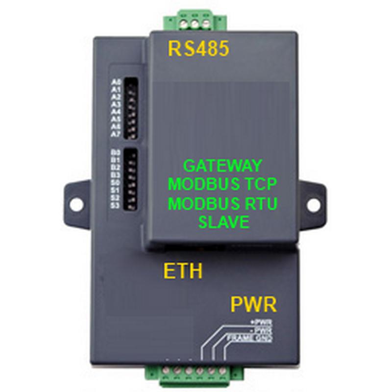 Gateway Modbus TCP - RTU Slave