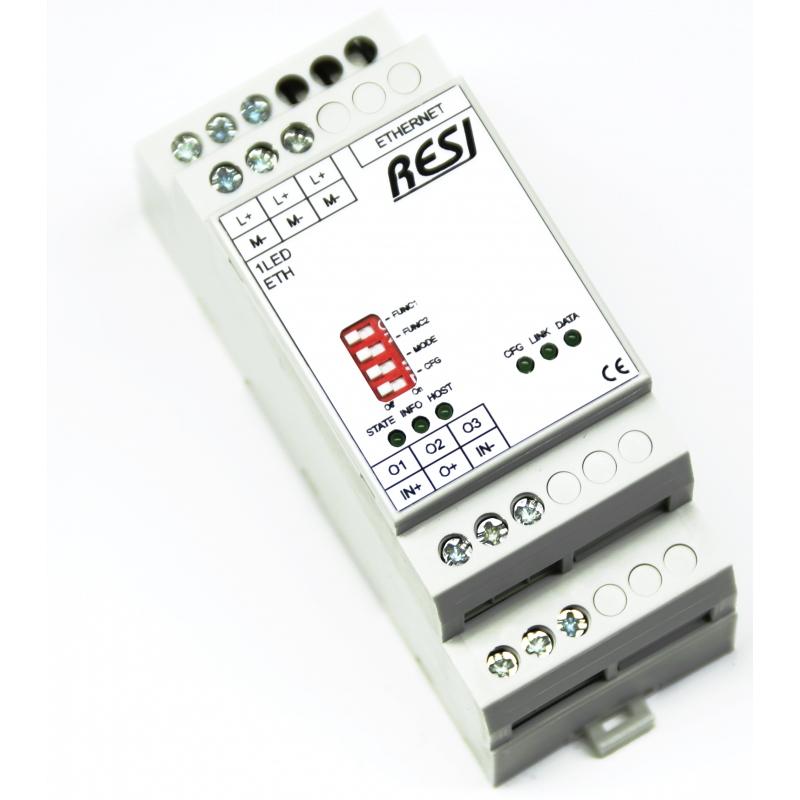 Control of LED strips via MODBUS TCP