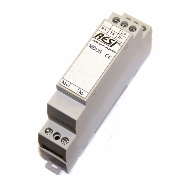 Level Converter RS232-Meterbus up to 24 slave Mbus