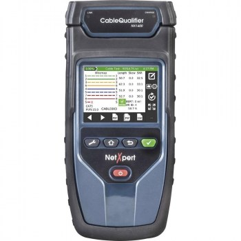 NetXpert 1400 IE:Industrial Ethernet Qualifier with Network Diagnostic Tool